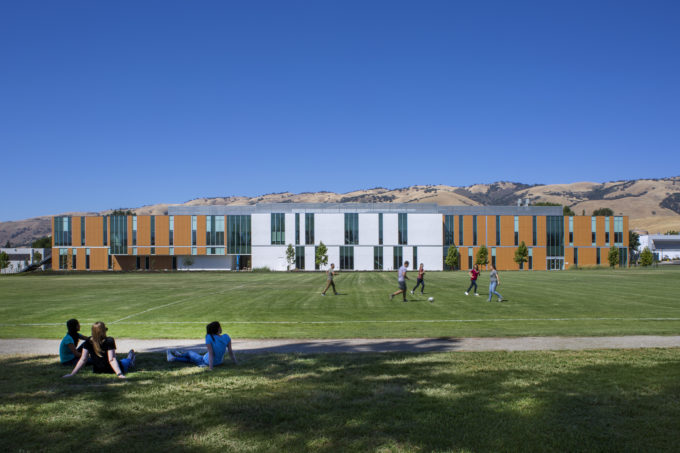 Student wellness is promoted through active design architecture